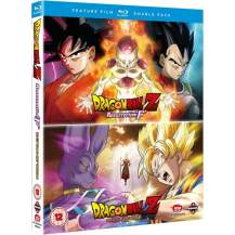 Dragon Ball Z: Battle of Gods Resurrection of F (2 disc) (Blu-ray) (import) Spil & konsoller
